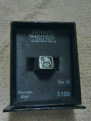 Star Wars Darth Vader Stainless Steel Ring