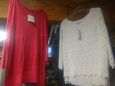 Karen Hart lot of 2 women's size XL boutique brand
