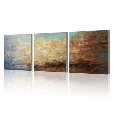Abstract Wall Art 100% Hand Painted Modern Oil Painting on Canvas Large Framed