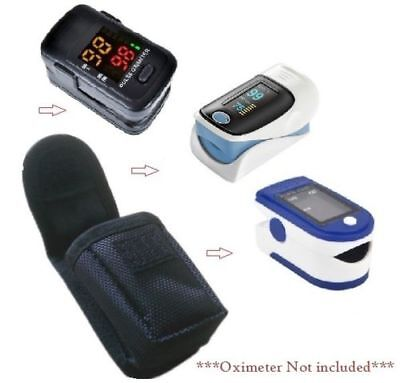 2x Nylon Fingertip Pulse oximeter Fabric Cover For Blood Oxygen Monitor Pack