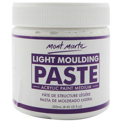 Mont Marte Acrylic Medium - Light Moulding Paste 250ml