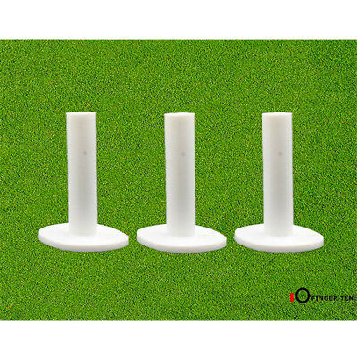 Rubber Tee Golf Holder 3 Pack Various Heights Driving Range Mat Tees Accessories