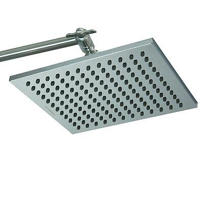 ShowerMaxx |Premium 8 inch Square High Pressure Luxury Spa Rainfall Shower Head-