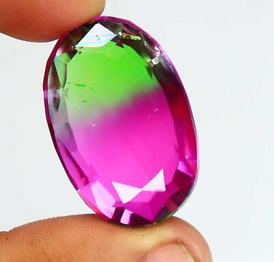 70.70Ct EGL Certified Multi Color Ametrine Attractive Oval Shape Gemstone BS734