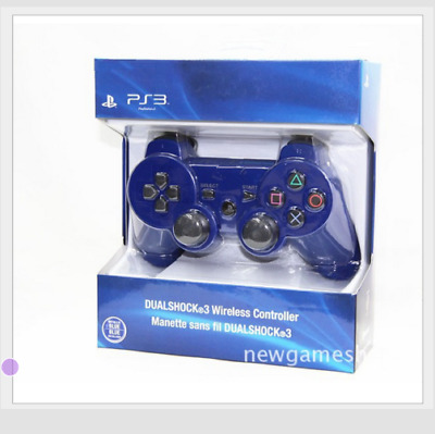 Brand NEW Sny PlayStation 3 PS3 DualShock 3 Wireless SixAxis Controller - Blue