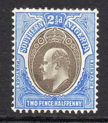 Southern Nigeria 2 1/2 Pence Stamp c1904-09 Mounted Mint (755)