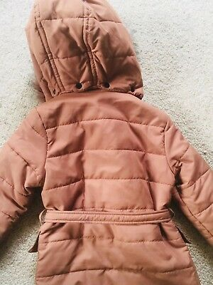 Witchery Girl Puffer Jacket Vest Black Size 4 Good Condition