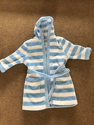 Baby Boys Dressing Gown 12-18 Months