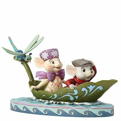 Jim Shore Disney Traditions by Enesco Bernard and Bianca with Evinrude 40th