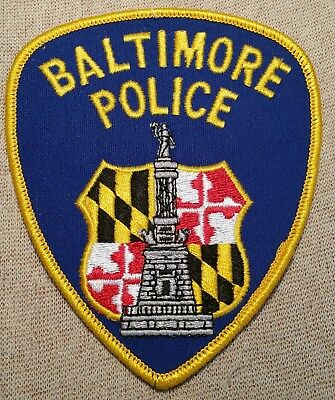MD Baltimore Maryland Police Patch