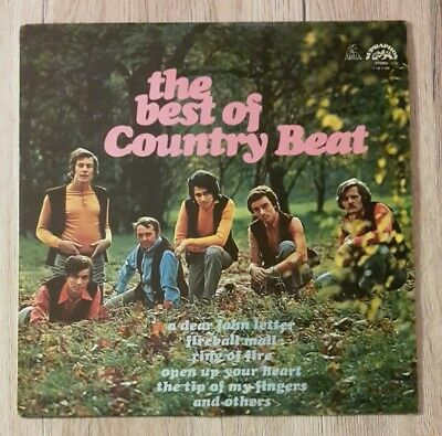 The best of Country Beat LP Schallplatte