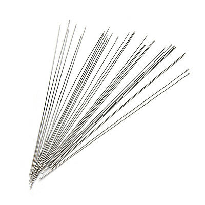 30x Beading Needles Fit Jewellery Making Threading MUHWC