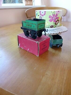 Hornby O Gauge. Engine tender and box and with nice BR tender also.