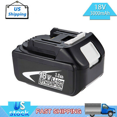 18V 3.0Ah Lithium-Ion Battery For MAKITA BL1830 BL1815 LXT400 BL1840 BL1835 Tool