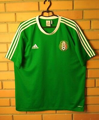 9e40f691bd8 ADIDAS MEXICO FMF HOME Soccer Jersey New With Tags XL -  35.00 ...