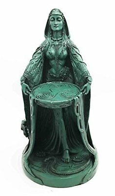 Irish Triple Goddess Danu Figurine Don Divine Feminine Source Wisdom Wealth
