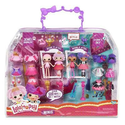 Lalaloopsy Minis Jewel Sparkles & Storm E Sky Fashion Doll Play Set Toy