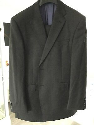 Men's Marks And Spencer Sartorial Charcoal suit