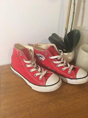 Size 1 Converse Hightops Kids