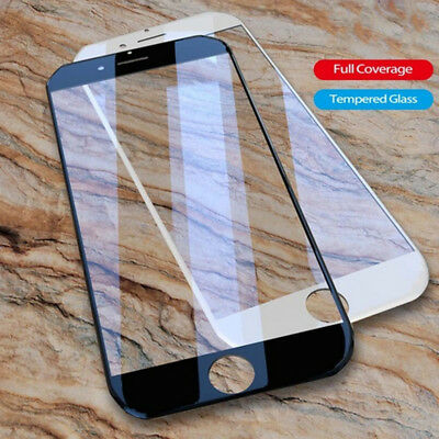 3D Full Cover 9H Tempered Glass Screen Protector Film For iPhone 8 7 Plus X 6 6s