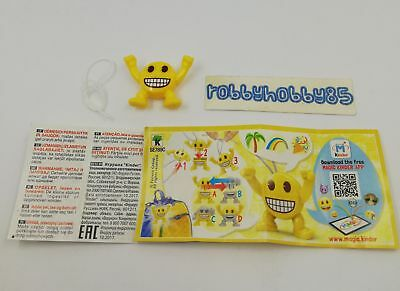 Se789 C Emojoy + Bpz Kinder Merendero Italia 2018 Emoji Collection