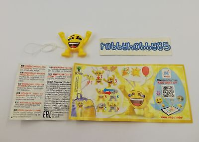 Se789 D Emojoy + Bpz Kinder Merendero Italia 2018 Emoji Collection