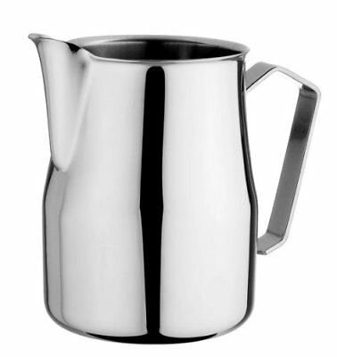 Motta Stainless Steel Milk Frothing Jug Coffee Pitcher Cup 12//19//126 Fluid Ounce