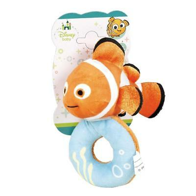 Disney Baby Finding Nemo Plush Rattle 0 Months+ Baby Toy