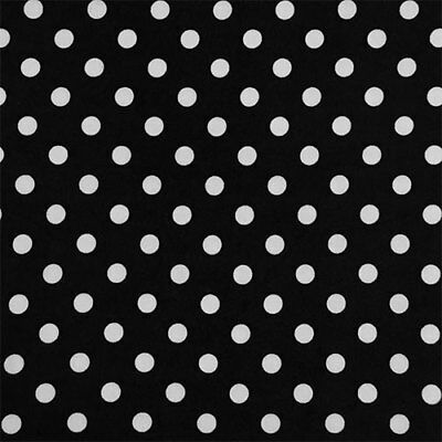 Premium Polka Dot/Spot Double Brushed Jersey Knit Fabric (Various Colours)