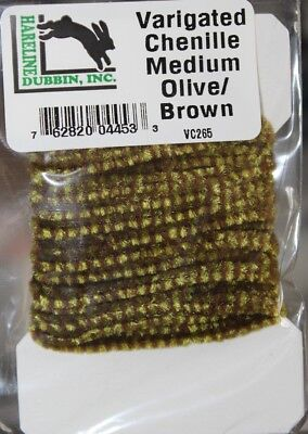 Hareline Frizzle Chenille Medium 10mm fusion body material Fly Tying