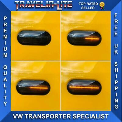 VW T5 & T5.1 Side Repeaters Dynamic Smoked Great Quality & Design Transporter
