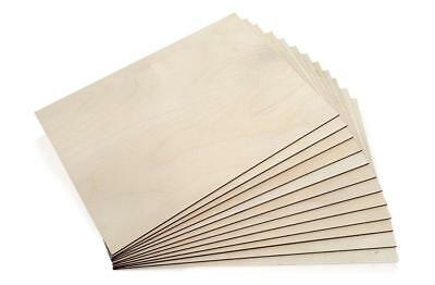 Birch Plywood Sheets Laser Crafts Models Pyrography 4 sizes Small and Big boards