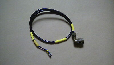 Clansman 2 Pin Female Power Socket And Cable Assy, Nsn 5995 99 573 8257