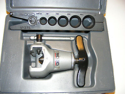 """Ridgid Heavy Duty Flaring Tool With Case. Model 375 for 1/2"""" to 1"""""""