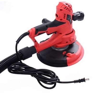 Electric HandHeld Drywall Surface Sander 710W Variable Speed With Vacuum and LED