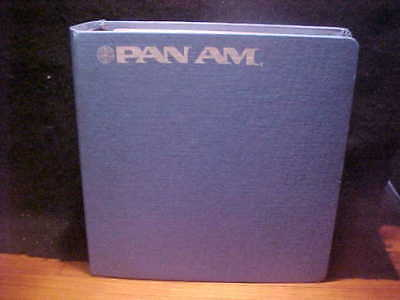Vintage Pan Am notebook w/recipes for in-flight menu, FREE SHIP