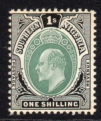 Southern Nigeria 1/- Stamp c1904-09 Mounted Mint
