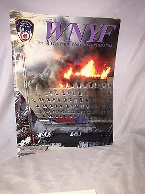 Excellent Firefighters WNYF 1/2006 Edition WITH NEW YORK FIREFIGHTER magazine