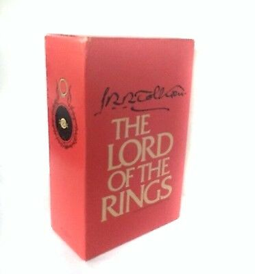 The Lord Of The Rings Vintage Boxed Set by J.R. R. Tolkien 1978 1965 CR