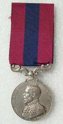 médaille anglaise DCM : DISTINGUISHED CONDUCT MEDAL  RARE FABRICATION FRANCAISE