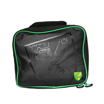Official Norwich City Fc Stamped Lunch Bag