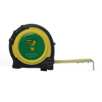Official Norwich City Fc Tape Measure