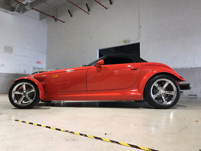 1999 Prowler 2dr Roadster 1999 Plymouth Prowler, Red with 4,373 Miles available now!