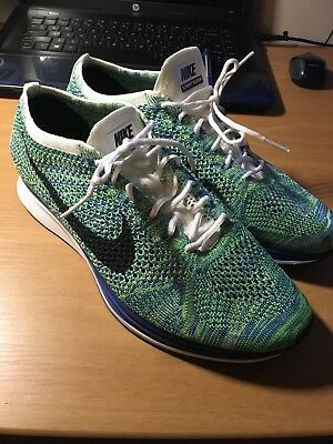 59e990a582a6 ... coupon for new nike flyknit racer tranquil green size 10 22120 b0fcf