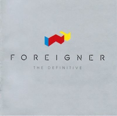 FOREIGNER the definitive (CD, compilation) greatest hits, best of, classic rock