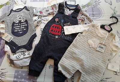 brand new baby boys clothes 0-3 months