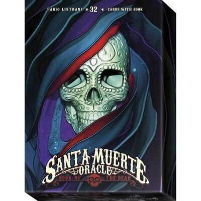 Santa Muerte Oracle Cards, by Fabio Listrani, brand new from Lo Scarabeo!