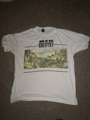 Big Country vintage 1989 Peace in Our Time tour shirt