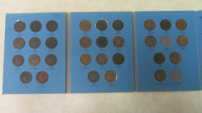 Almost Complete Large Cent Collection 1826-1857