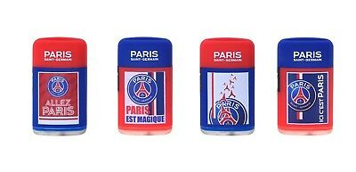 Briquet Flamme Tempete Rechargeable Logo Psg Paris Saint Germain Club De Foot